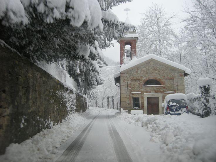 A little Church near our Cellars Tacchino Raffaele