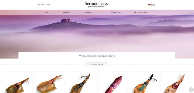 DAS ORIGINAL  Jamon Serrano 6,500 kg orig. spanischer Serrano Schinken Keule