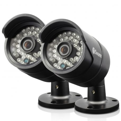 Swann SWPRO-A850 2 x 1MegaPixel 720P Security Cameras with 30Mtr Night Vision