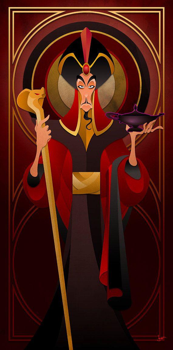 Disney Villains Series Jafar by JonMendez on Etsy