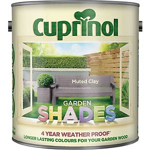 Cuprinol Garden Shades Silver Birch 1L | Wickes.co.uk