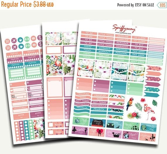 50% SALE Life Planner Stickers  Planner Sticker by Spiffyway