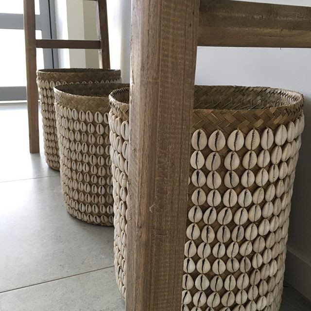 This exquisite basket looks fabulous styled with your favourite plant.  Add a touch of Coastal Luxe style to your living area or bathroom.  Also great as a bath