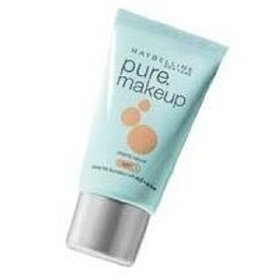 Maybelline Pure Makeup -- really good reviews & supposed to be perfect for my oily skin