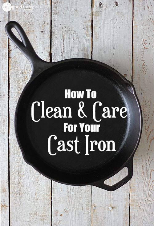 Care for Cast Iron
