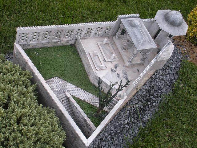 Mimar Sinan Tomb at Istanbul in Turkey