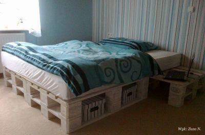 łóżko z palet drewnianych - Szukaj w Google