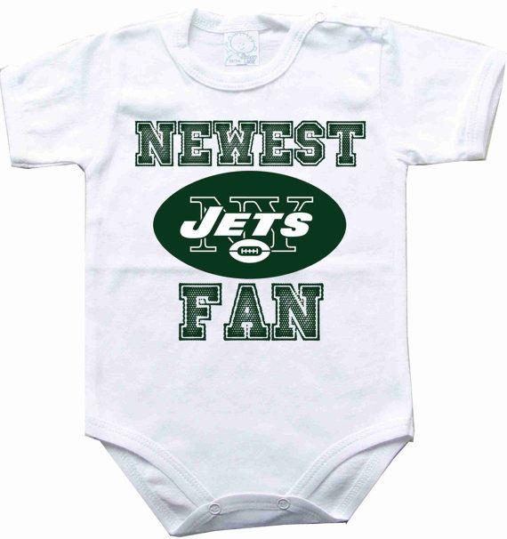 Baby bodysuit Newest fan New York Jets football NFL One Piece Bodysuit Funny Baby Onesie Child boy girlen's Clothing Kid's Shower boy on Etsy, $10.98