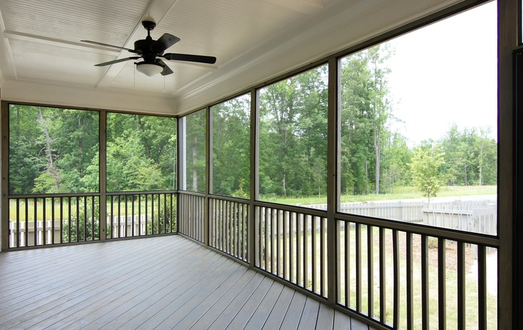 75 best images about home exterior on pinterest for Craftsman style screened porch