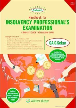 #ShopNow @ www.meripustak.com/pid-149601  Handbook for Insolvency Professionals Examination  #InsolvencyProfessionalsExamination  #Handbook For #Insolvency #Professionals #Examination, #Latest #Syllabus Of #IBBI, #MCQs, #InsolvencyAndBankruptcyCode2016 #AlliedLaw #AcademicBooks #ProfessionalBooks #Online #BookStore in #India