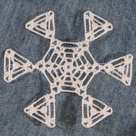 FREE PATTERN ~ Pyramid Peak Snowflake