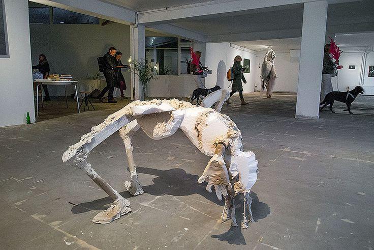 Marieke Bolhuis en Kimon Kyrligitsis bij Tankstation (2/4) | by Paul Clason