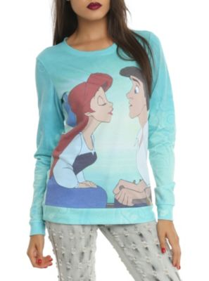 Disney The Little Mermaid Kiss The Girl Girls Pullover Top