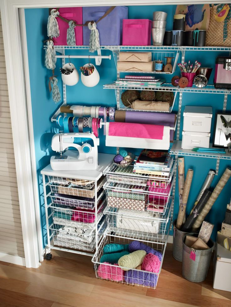 get one with closetmaid shelftrack wire shelving