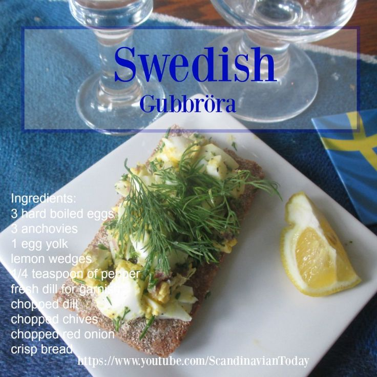 Gubbröra is one of Swedish famous dishes. This Swedish egg-anchovy sandwich is easy to make with simple ingredients. Gubbröra translates to Old Man's Mix.  See our full recipe tutorials on YouTube--https://youtu.be/cFKrLIAHa8Q Comment below  #scandinavian #scandinaviantoday #scandifriends #scandinaviantodaycookingshow #crispbread #crispbreadrecipes #swedishrecipes #Gubbröra