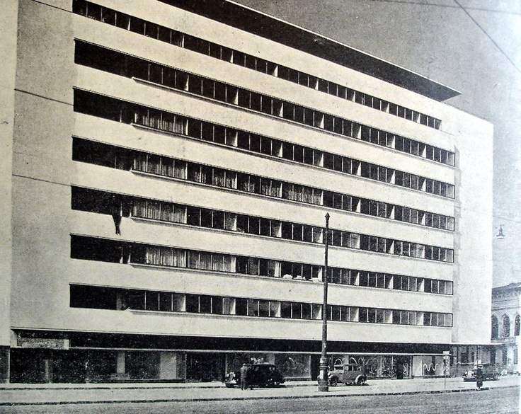 Malaxa-Burileanu Building - Horia Creanga, cca 1930, Bucharest