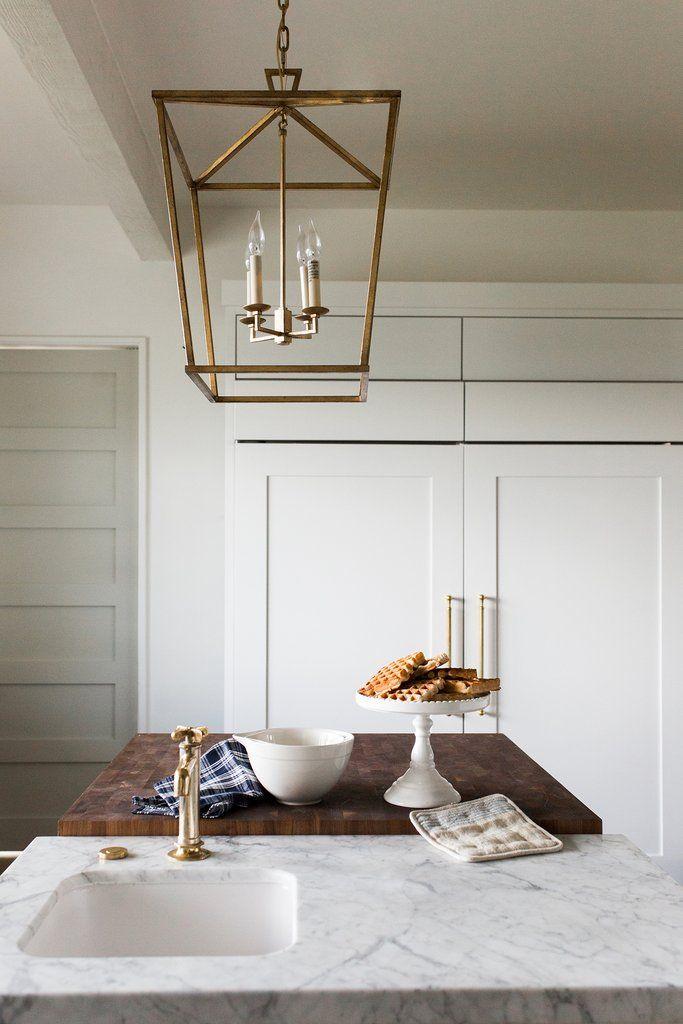 darlana lantern small polished nickel kitchen kitchen decor rh pinterest com
