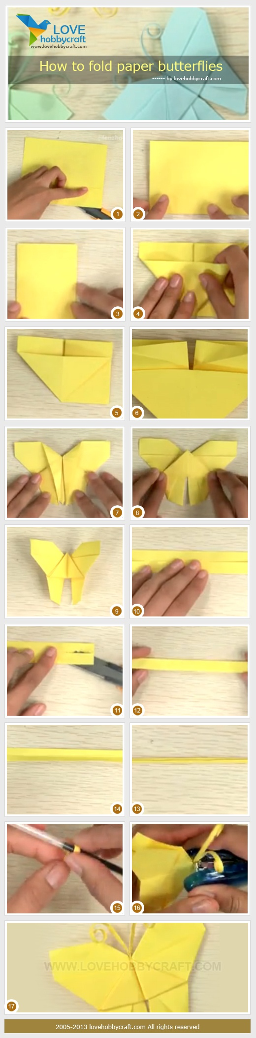 How-to-fold-paper-butterflies