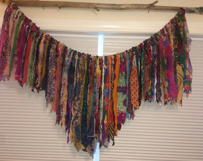 Bohemian Hippie Handmade Curtains Shipping Available Outside