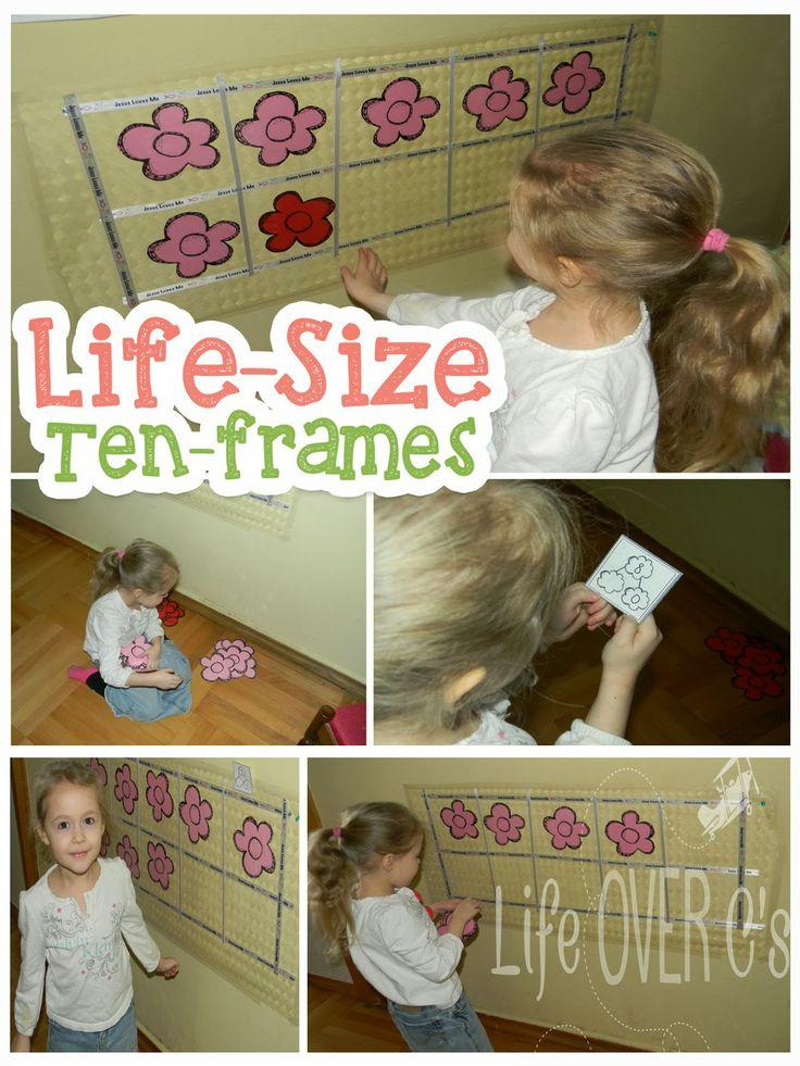 Life Over C's: Free Interactive Ten-Frame Activities
