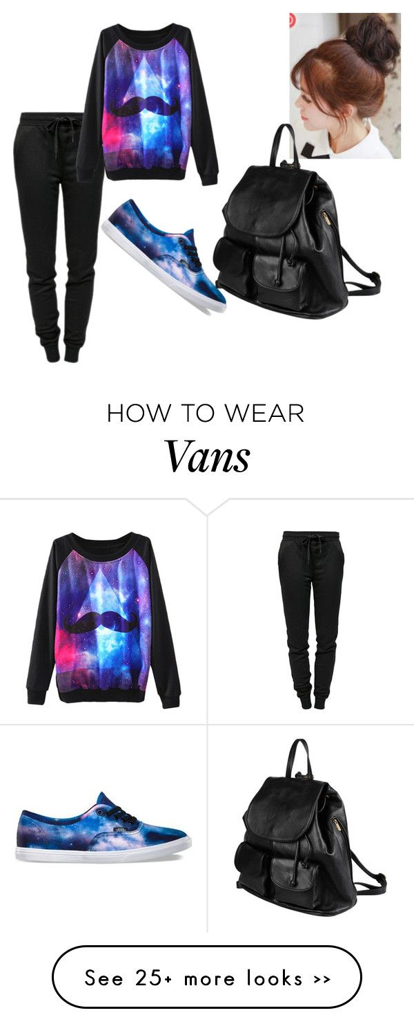 """""""Untitled #160"""" by mariejonesd on Polyvore featuring T By Alexander Wang, Vans, Pin Show and PARENTESI"""