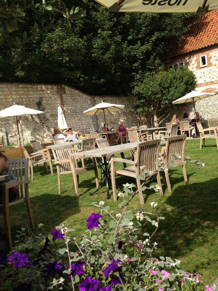 Garden at The Hoste