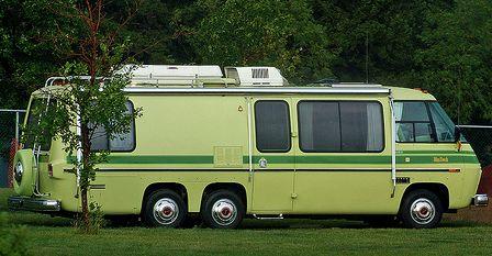 Exterior - Vintage GMC Motorhome