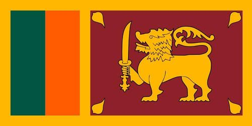 Sri Lanka Sri Lankan Flag 3.5 inch Sticker Vinyl Decal Stickers