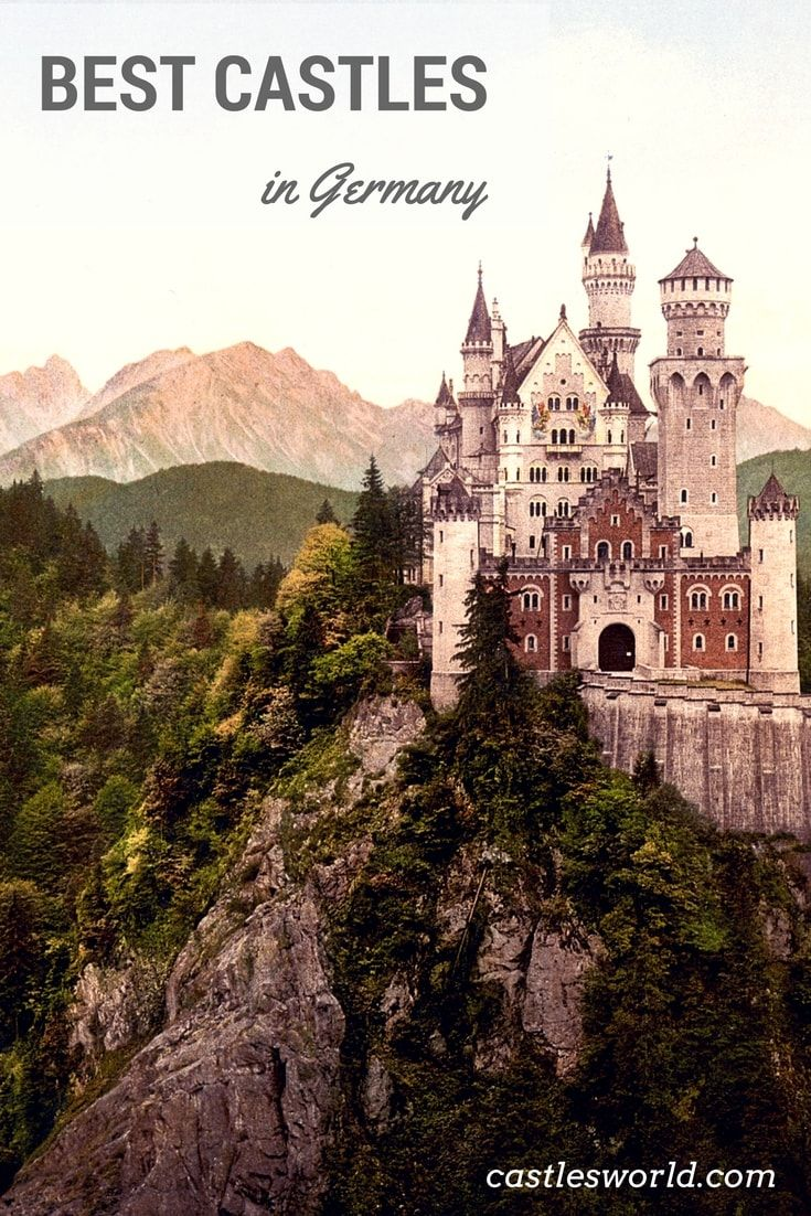 Germany is famous for its castles, with their pasts filled with knights, dukes and holy wars. Fairy-tale castles that sit atop high mountains, medieval wonders or magnificent structures built to protect towns or just pleasure some kings, Germany has it all.