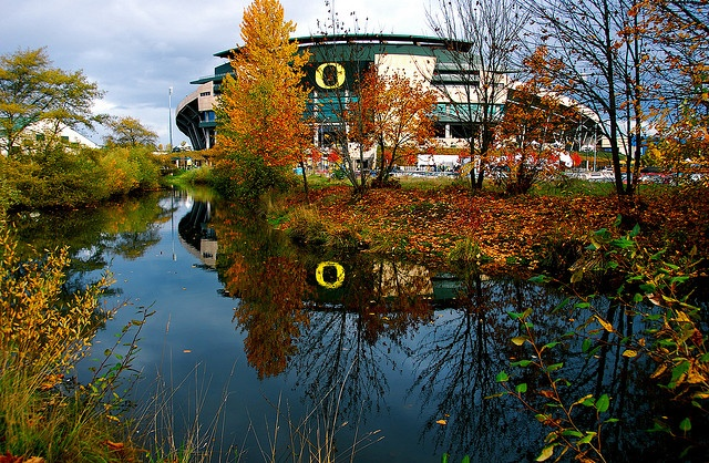 Autzen Stadium- University of Oregon-Eugene, Oregon