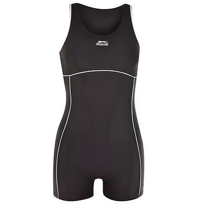 #Slazenger womens boyleg #swimsuit ladies swimming #costume beachwear,  View more on the LINK: 	http://www.zeppy.io/product/gb/2/371263723957/