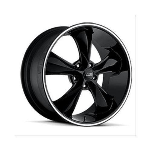 Foose Legend Series Black Wheels With Machined Lip F10417806545 #Foose