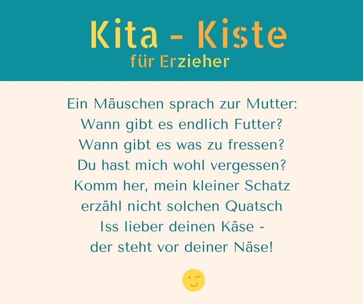 Mini-Gedicht - verstellt die Stimme bei Mäuschen und Mutter
