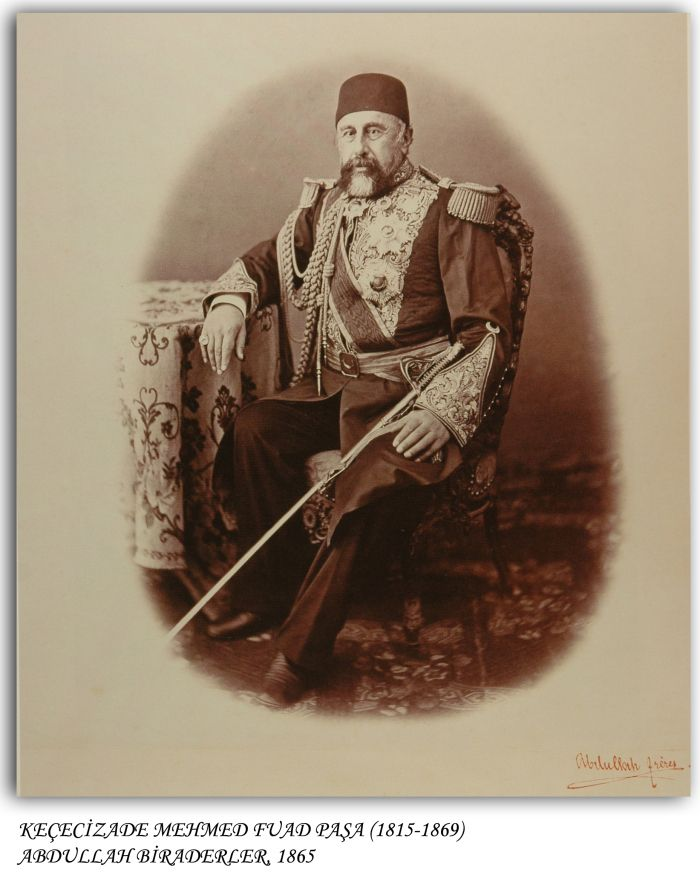 Keçecizade Mehmet Fuad Paşa 1865