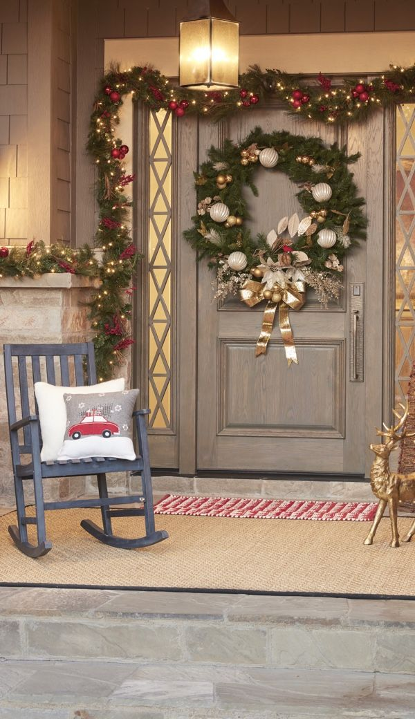 4 ways to decorate your home for a country christmas overstock com rh pinterest com