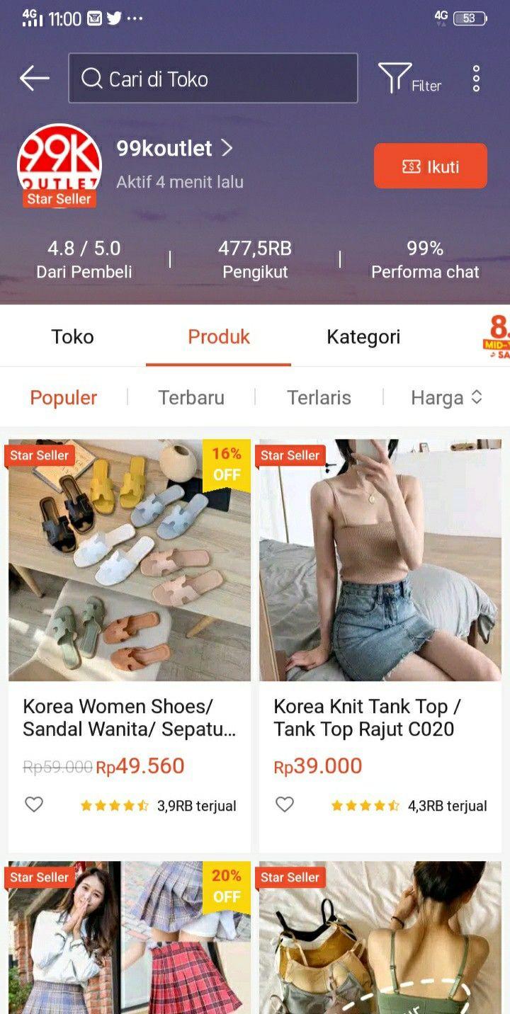 Pin Oleh Indah Safira Di Shopee Di 2020 Gaya Remaja Model Pakaian Remaja Wanita Gaya Mod