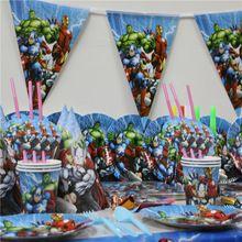 81 unids Nuevo Tema de Dibujos Animados Niños Cumpleaños Decoración Suministros Platos de Papel Del Partido + Copas + Mantel Plástico Favores Niños(China (Mainland))
