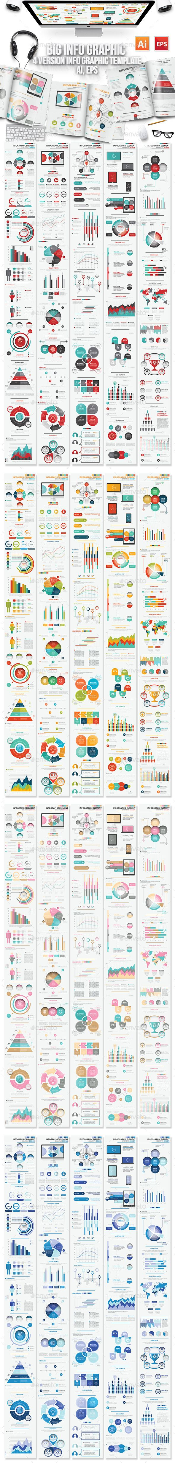 Info Graphic Elements Design Template #design Download: http://graphicriver.net/item/info-graphic-elements-design/11938172?ref=ksioks