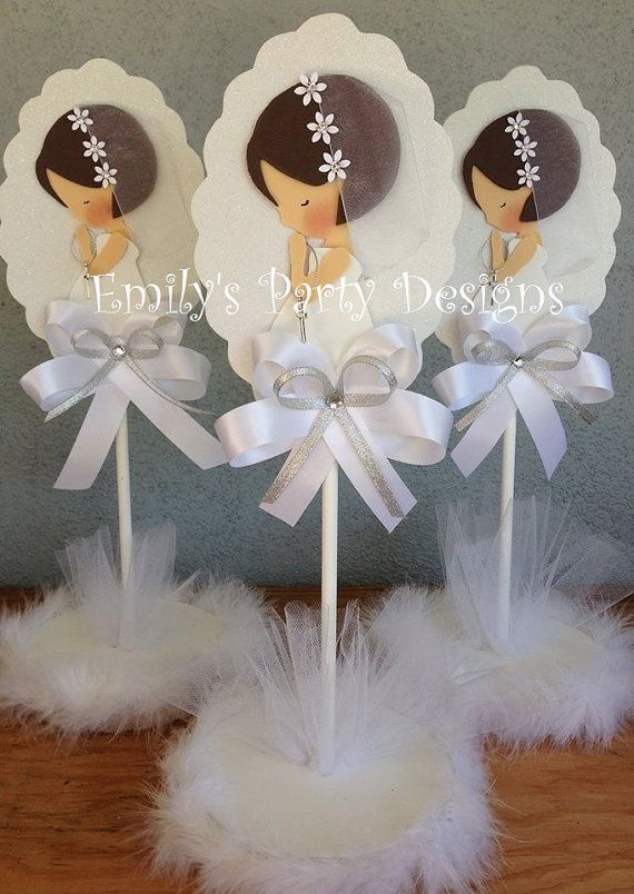 First Communion Centerpiece, Christening Centerpiece