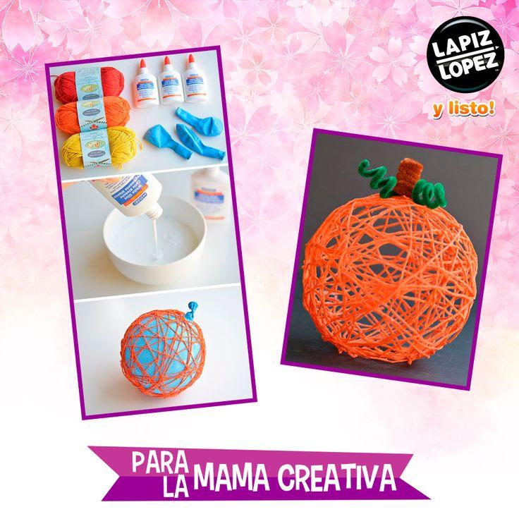 ¡Mamás que apañan con la fiesta de Halloween! Esta decoración es ideal para ustedes.