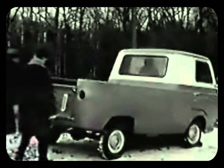 This is so crazy... comparing an old Chevy Corvair and a Ford Econoline.. very comedic