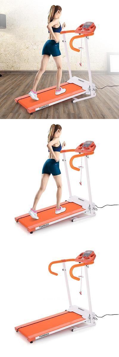 Treadmills 15280: Orange 500W Folding Electric Treadmill Motorized Running Machine Fitness New -> BUY IT NOW ONLY: $177.99 on eBay!