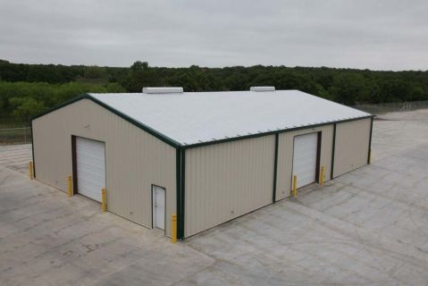 Best Walls Light Stone Roof Galvalume Plus Trim Ivy Green 400 x 300