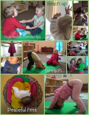 Toddler yoga to teach body control
