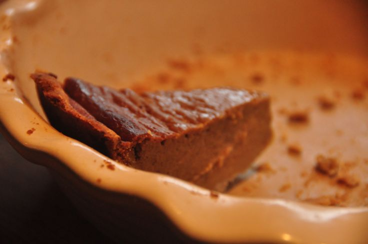 Gluten-free Coconut Pumpkin Pie | Food stuff | Pinterest