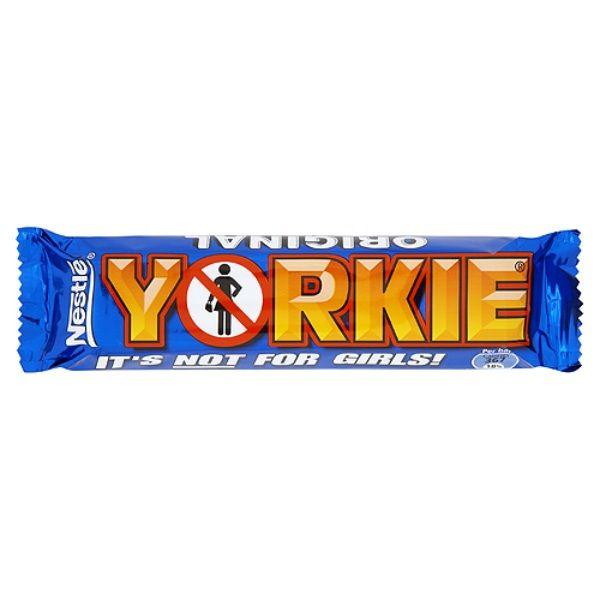 Candy Bars   British Milk Chocolate Yorkie Bars: Case Of 36
