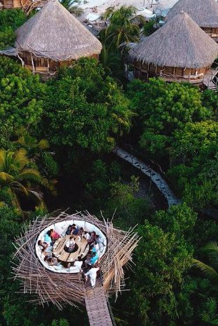 What We Love: An off-the-grid stay in a treehouse villa at an eco-resort earning plenty of prestigous buzz. Azulik Hotel & Maya Spa (Tulum, Mexico) - Jetsetter