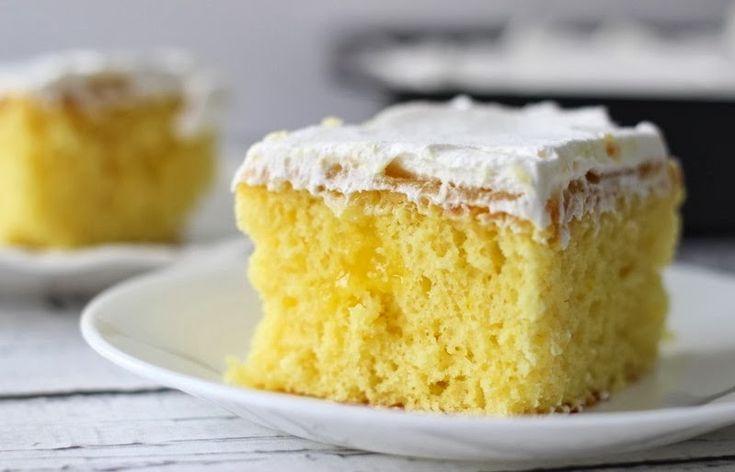 Lemon Poke Cake   Cook'n is Fun - Food Recipes, Dessert, & Dinner Ideas