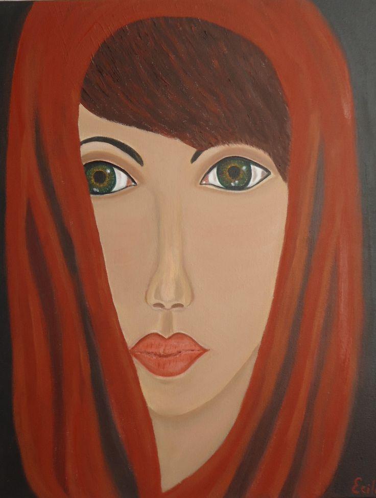 Rachel - oil on canvass