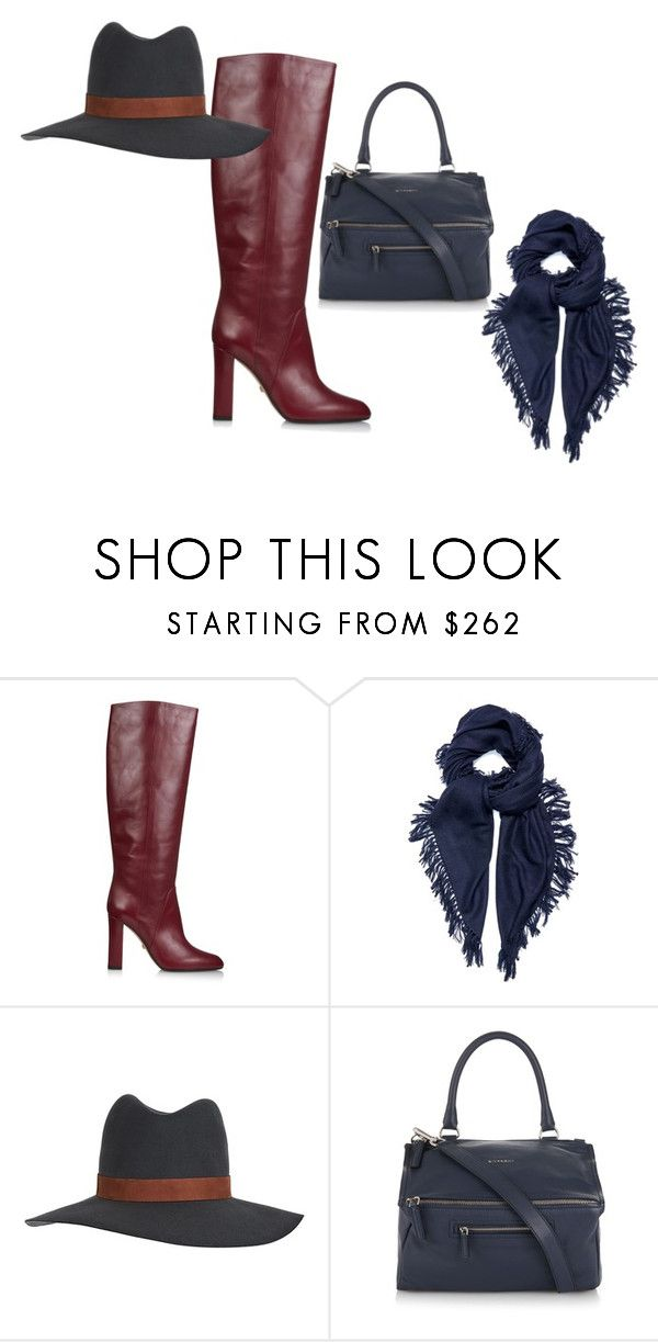 """""""Styling Mrs Oliver Winter"""" by stylingmrsoliver on Polyvore featuring Diane Von Furstenberg, Isabel Marant, Janessa Leone and Givenchy"""